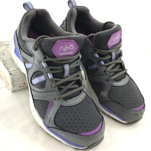 Ryka Revenant Gray Running Shoes 6.5